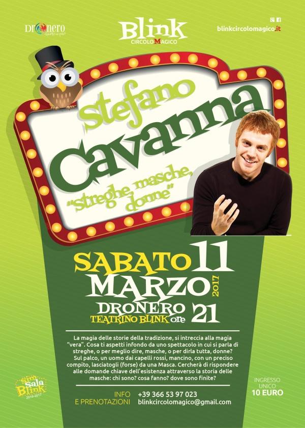 Stefano Cavanna: Streghe, Masche, Donne...