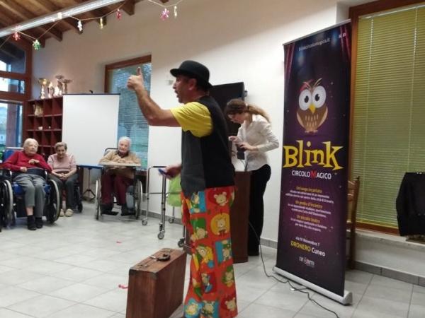Blink Circolo Magico è anche magia sociale.