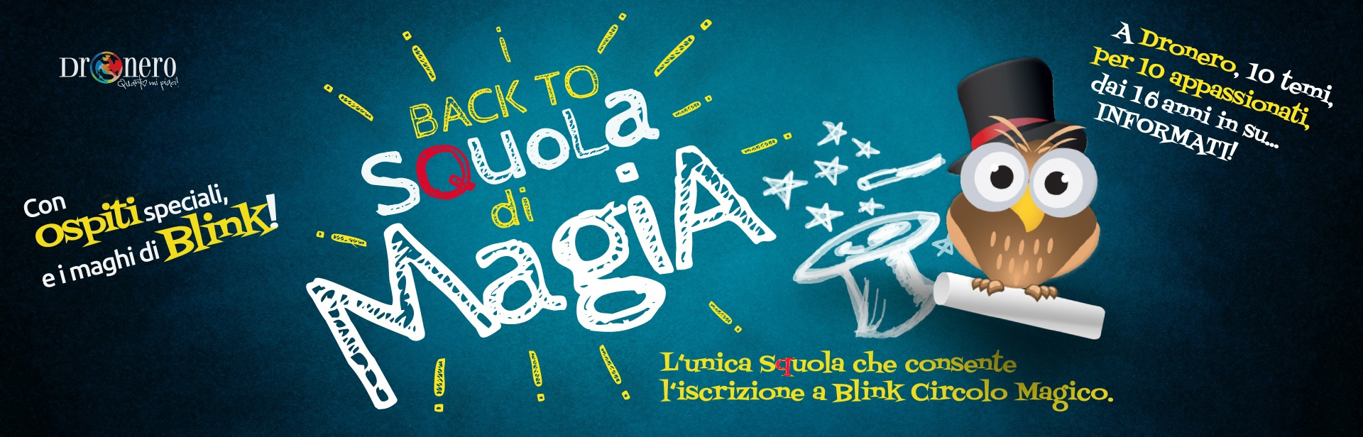 """Back to """"Squola di Magia"""" BLINK"""