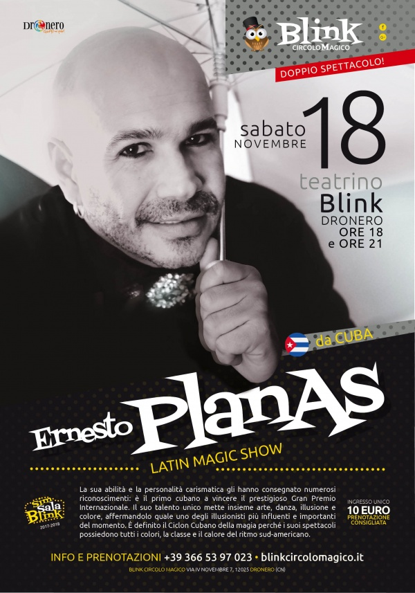 ERNESTO PLANAS: LATIN MAGIC SHOW
