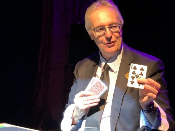 Gianfranco Preverino a Blink Circolo Magico