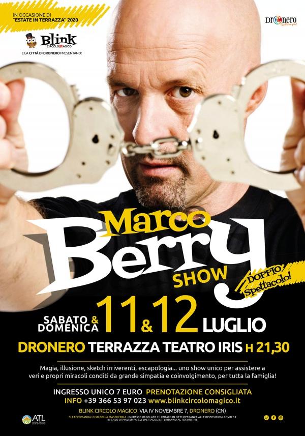 DOPPIO APPUNTAMENTO CON LA MAGIA DI MARCO BERRY